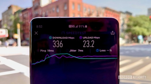 T-Mobile 5G Review Speed Test Number 3