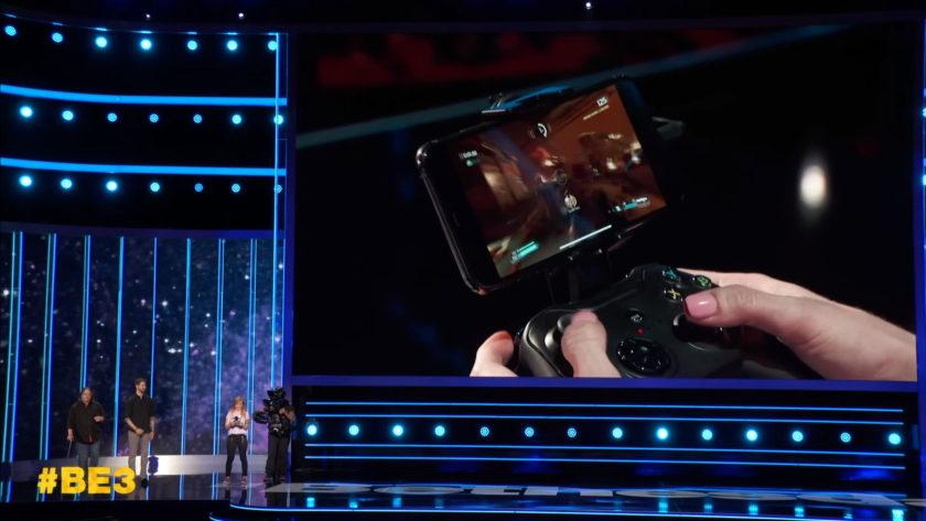 Bethesda's Orion streaming tech at E3.