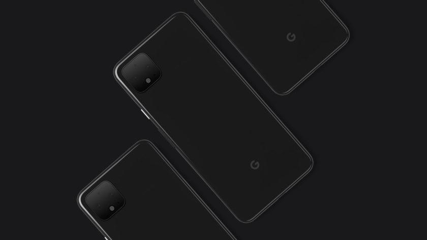 Google Pixel 4 XL Side by Side Render
