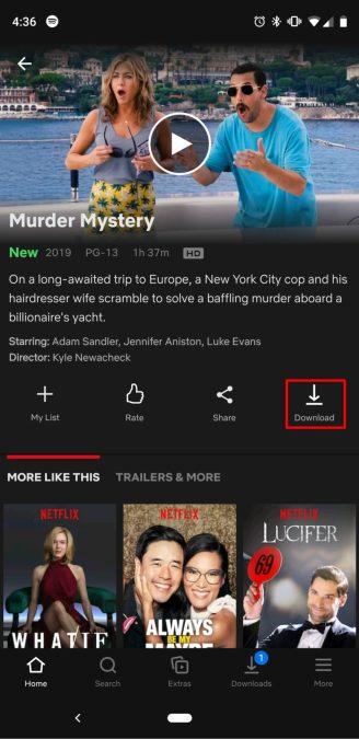 как скачать фильмы показывает Netflix 4