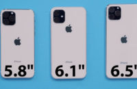 Physical mockups of what the 2019 iPhones could look like.