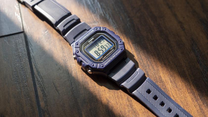Цифровые часы Casio W 218H