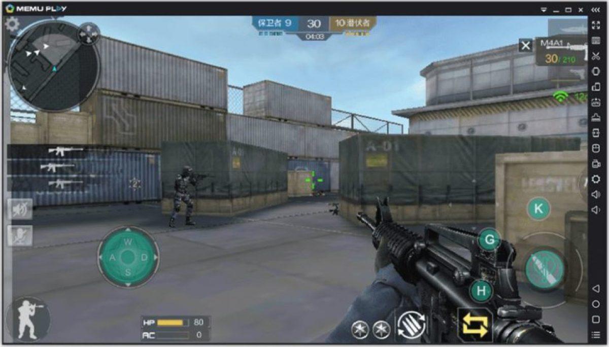 скриншот эмулятора ПК Memu Android
