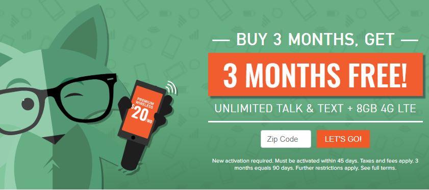 Mint Mobile three months free header