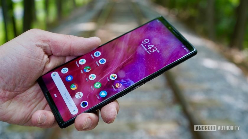 Sony Xperia 1 review in the hand