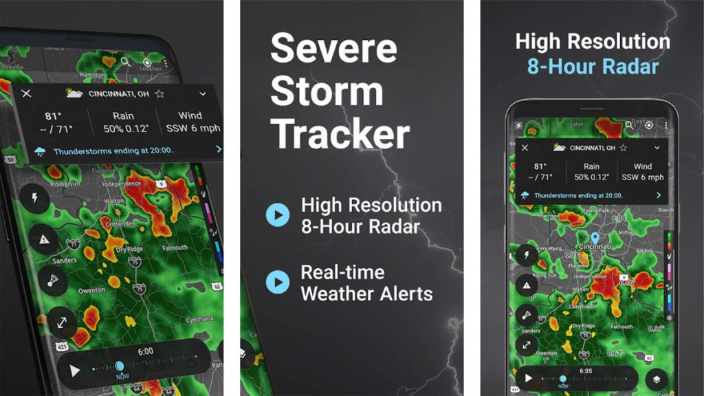 Скриншот Storm Tracker 2019