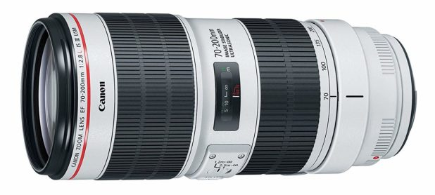 Canon EF 70 200mm f2.8L is III USM Lens side