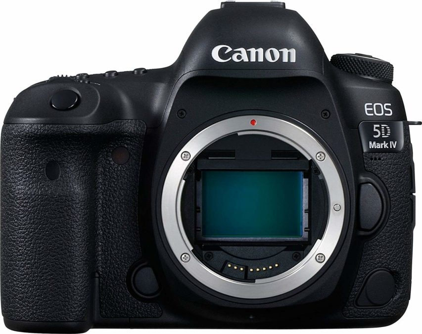 Canon EOS 5D Mark IV without lens