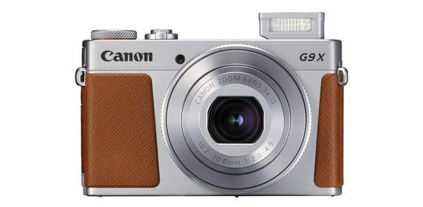 Canon Powershot G9 X Mark II front side.