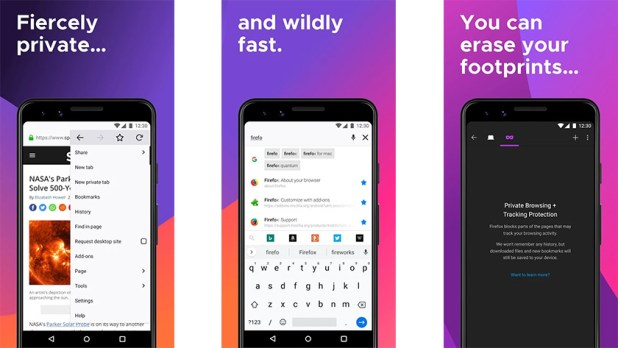 Firefox Browser is one of the best joke apps for android