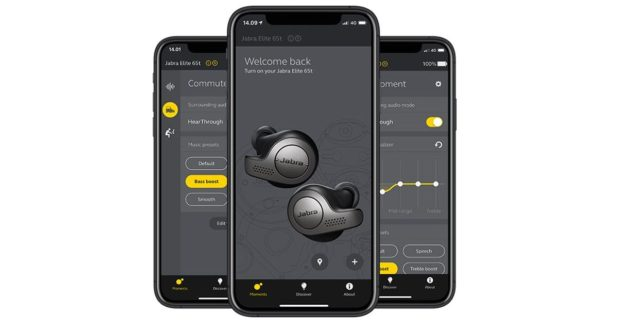 Jabra Elite 65t True Wireless Earbuds App