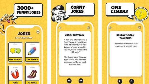 Joke Book is one of the best joke apps for android