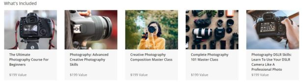 Photography For Beginners Mastery Bundle Courses