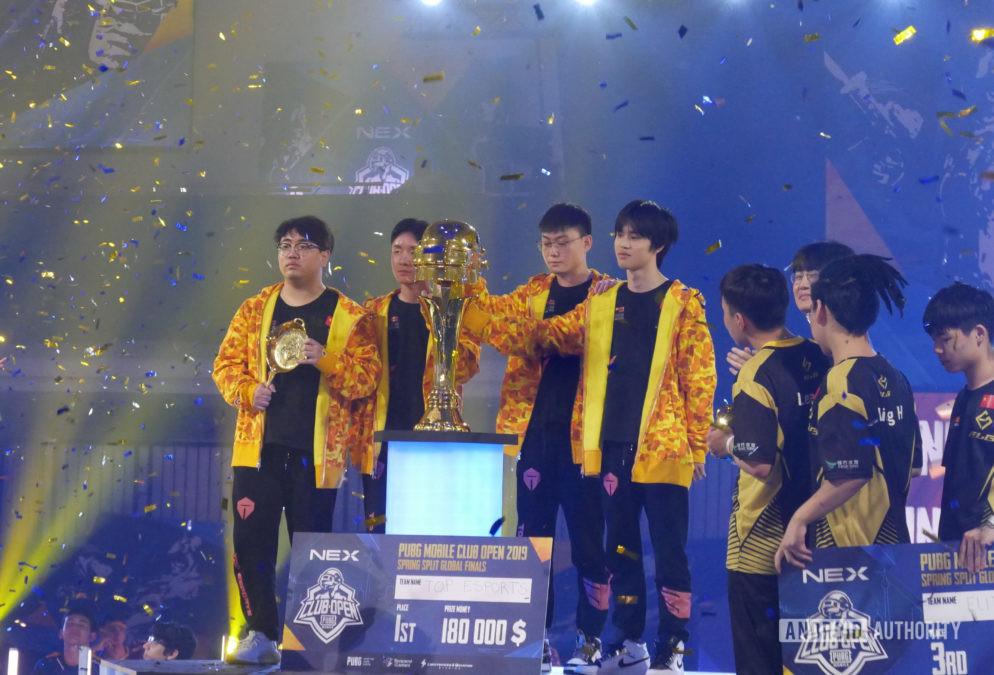 Top Esports PMCO winners