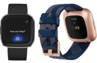 New Fitbit Versa Smartwatch renders showing two units side-by-side.