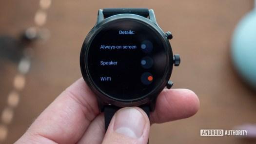 fossil gen 5 smartwatch review custom battery modes 2