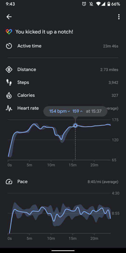 fossil gen 5 smartwatch review heart rate readings 1