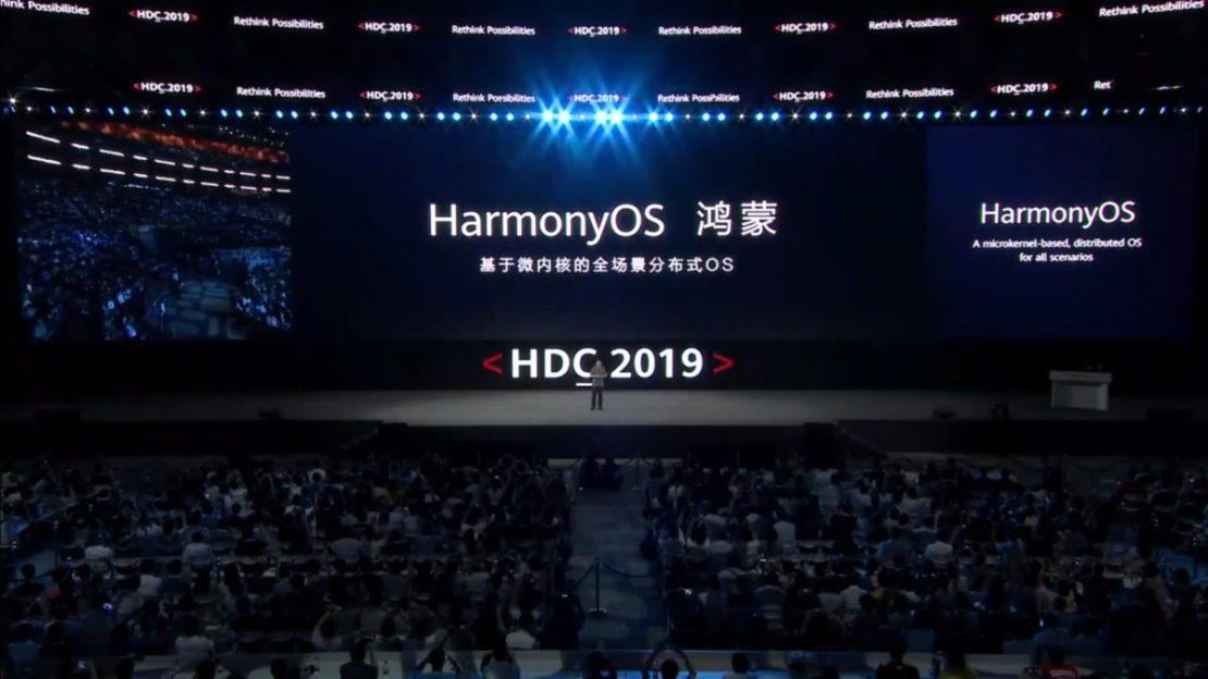 HarmonyOS at Huawei Developer Conference 2019