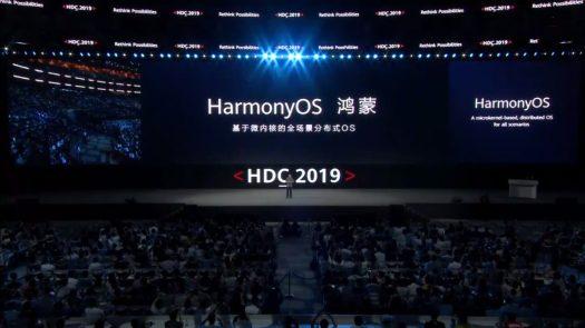 Huawei HarmonyOS.