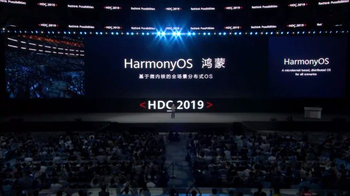 Huawei podría lanzar muy pronto un dispositivo con HarmonyOS