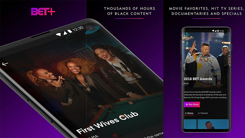 BET Plus is one of the best new android apps from september 2019