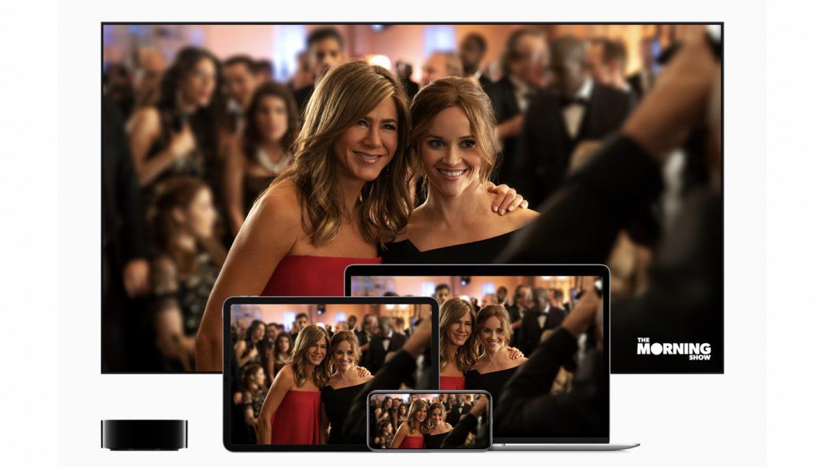 Apple TV Plus на нескольких устройствах