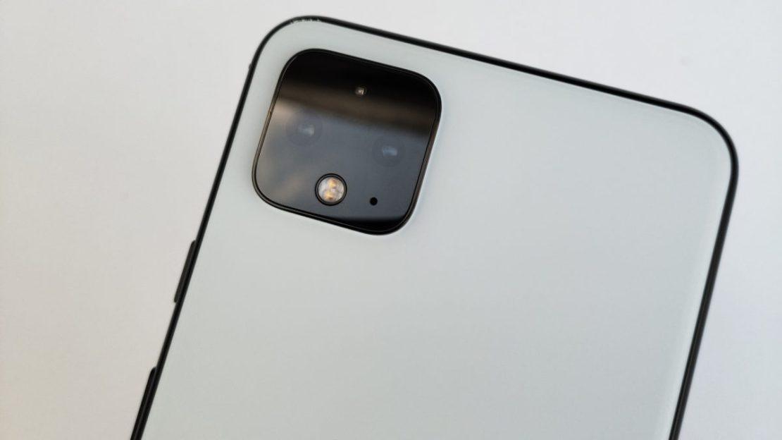 Google Pixel 4 Leaked Image Hero