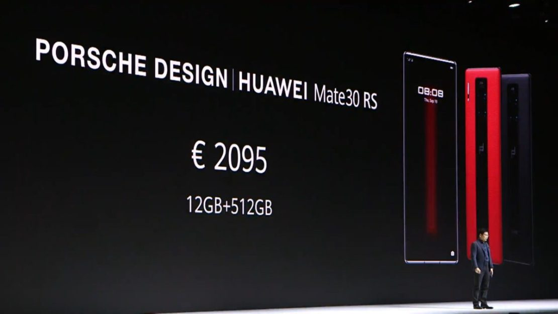 Huawei Mate 30 RS Price