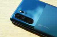 Huawei P30 Pro in misty blue camera detail