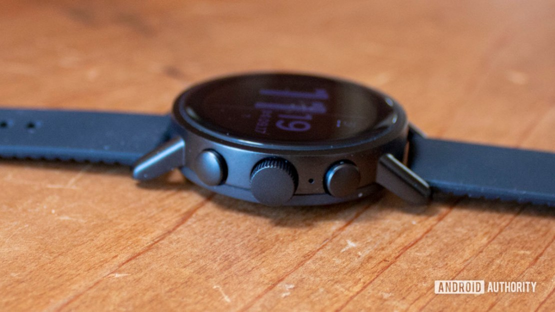 Misfit Vapor X Smartwatch Three buttons on side including rotating crown