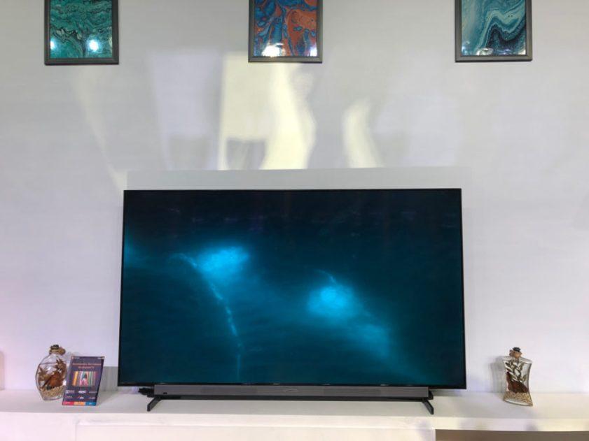 Motorola 65 INCH TV display