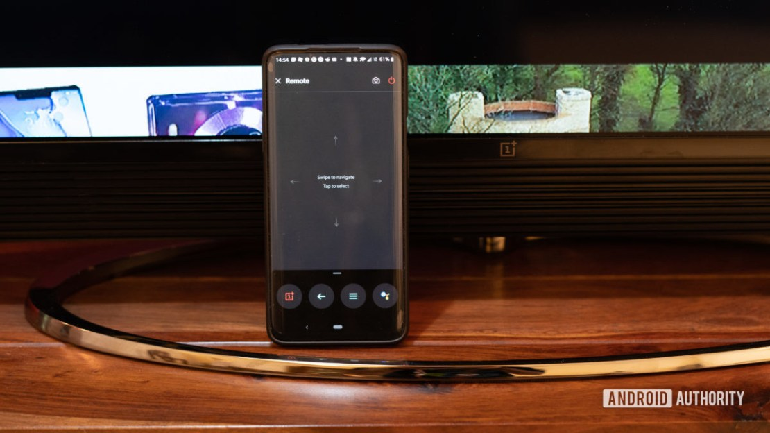 OnePlus TV control with remote