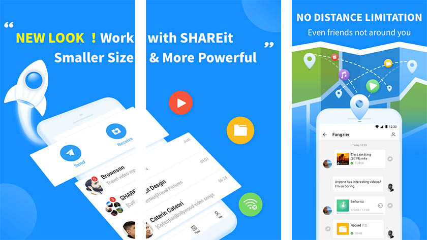 SHAREit Lite is one of the best new android apps
