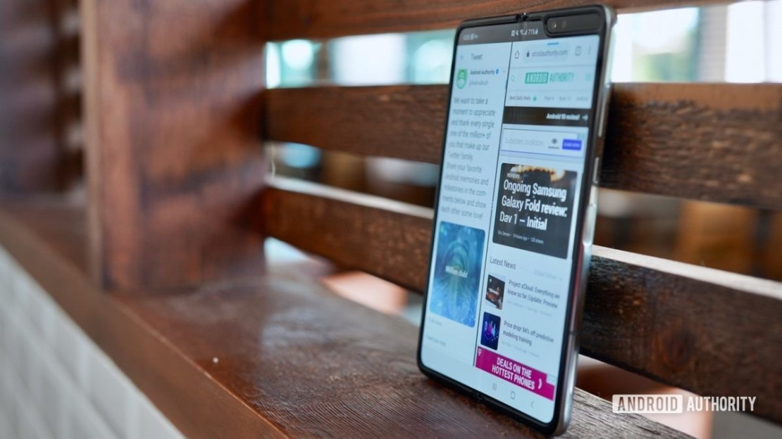 Samsung Galaxy Fold 2 leaks point to a similar price as the first Galaxy Fold.