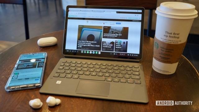 Обзор Samsung Galaxy Tab S6 во время работы