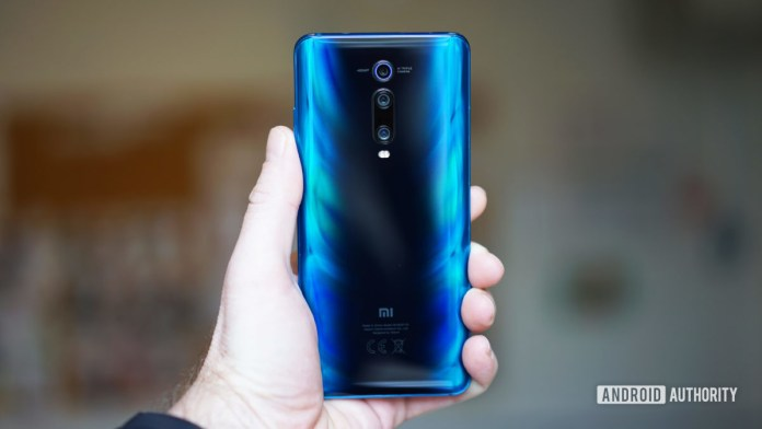 Xiaomi Mi 9T Pro glacier blue back panel