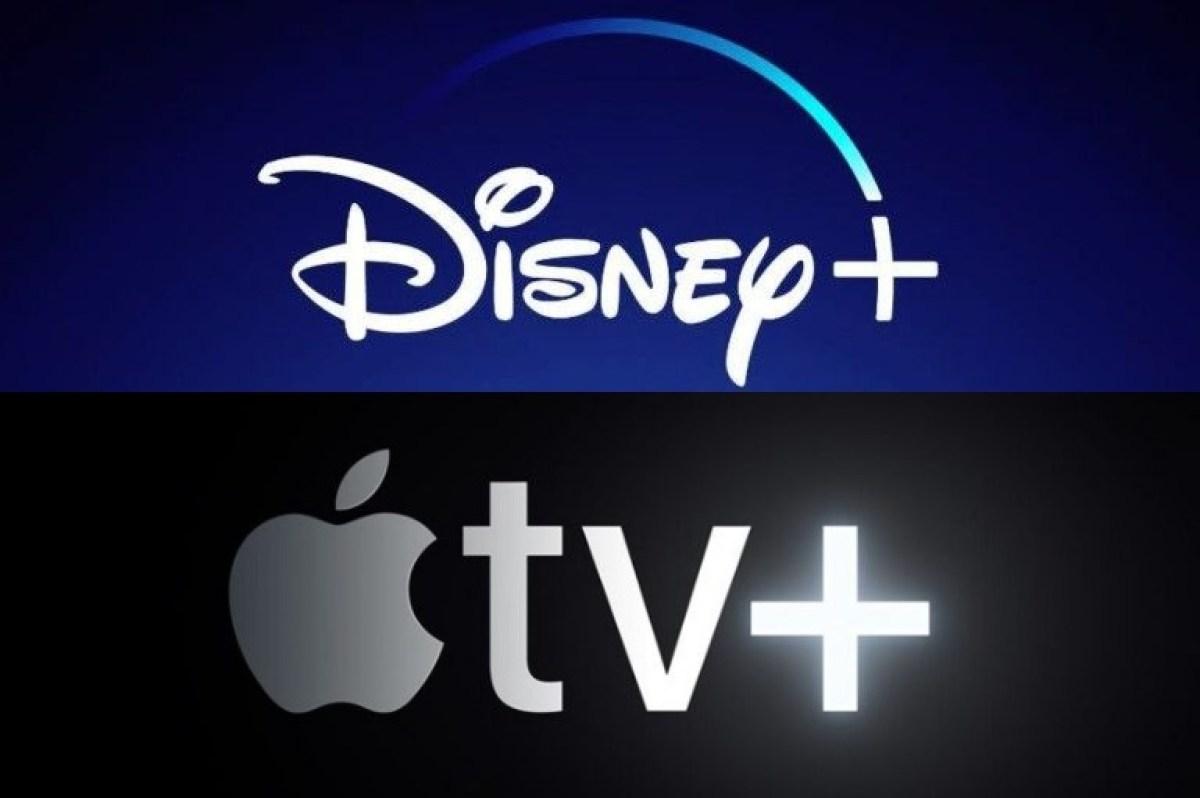 яблочный телевизор плюс против диснея плюс