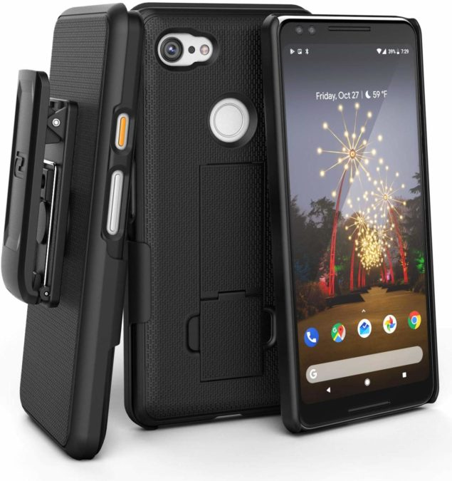 best pixel 3a xl cases encased duraclip with belt clip and holster