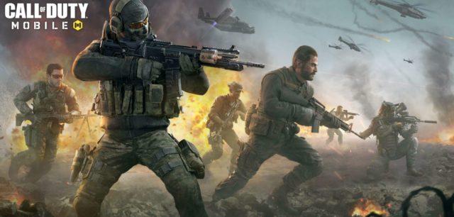 The Call of Duty: Mobile splash screen.