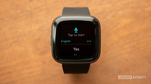 fitbit versa 2 review text message notifications voice reply 1