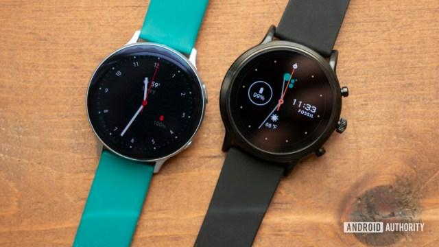 samsung galaxy watch active 2 review vs fossil gen 5 smartwatch