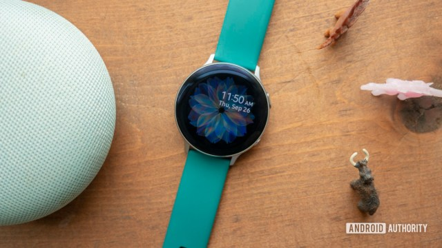 samsung galaxy watch active 2 review watch face clock face 7