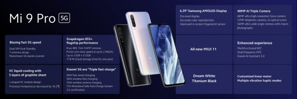 Xiaomi Mi 9 Pro 5G: Killer specs, fastest wireless ...