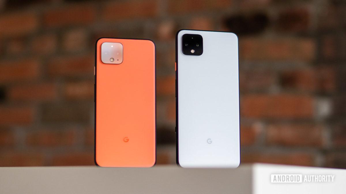 Google Pixel 4 против Pixel 4 XL 2