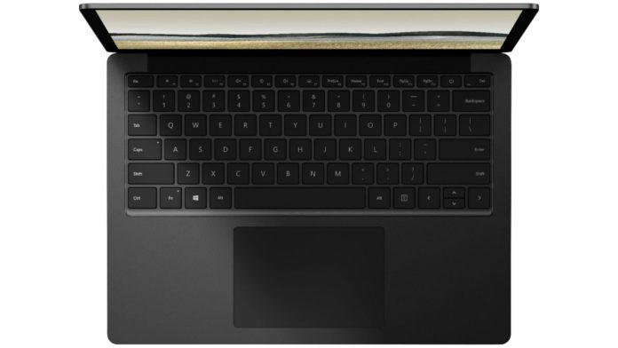 Microsoft Surface laptop 3 fuga