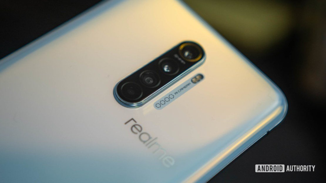 Realme X2 Pro rear quad camera assembly - best phones under £500