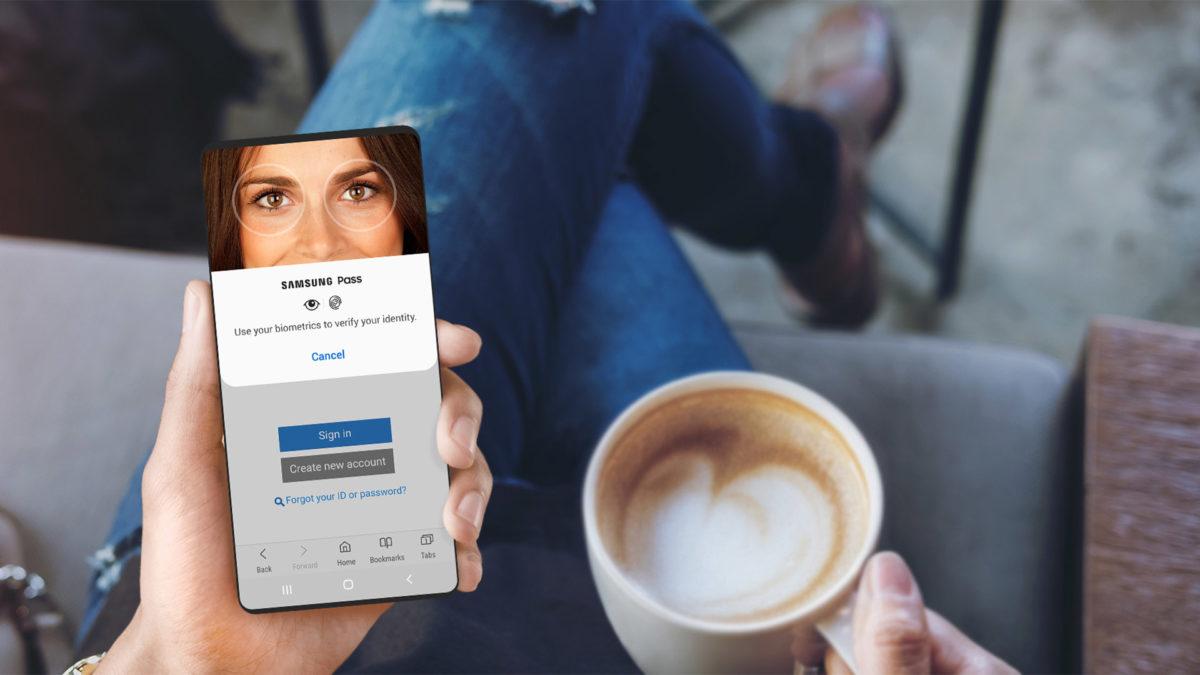 Samsung Pass screenshot 2020