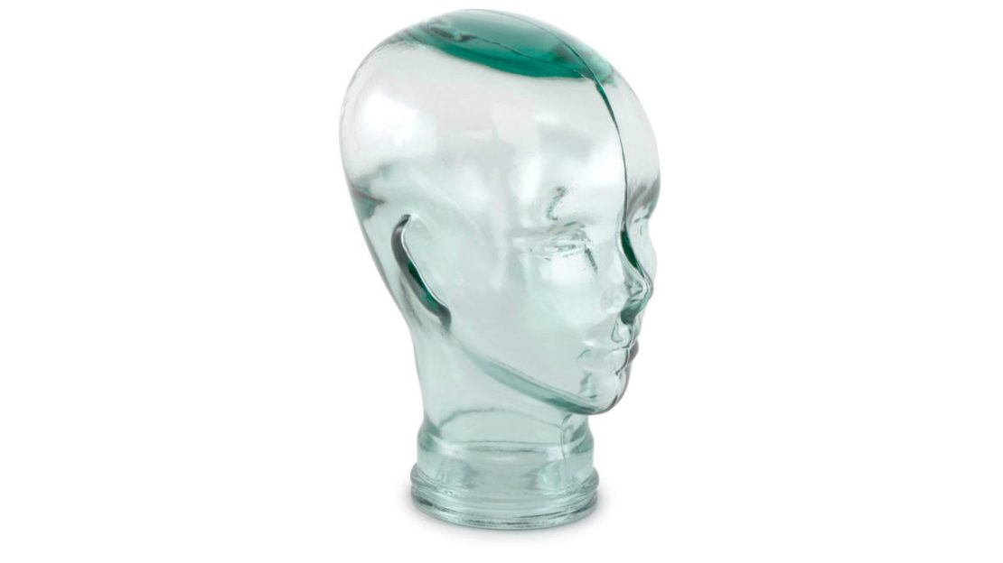 Traders and Company Glass Head