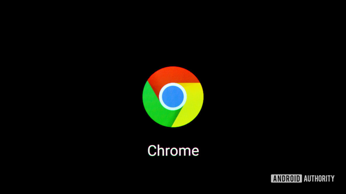 Значок Chrome на смартфоне 3