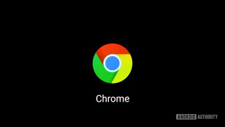Chrome icon on smartphone 3